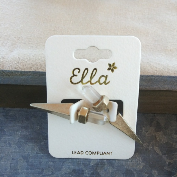 Ella Jewelry - Cristal spike. Pretend ear plugs